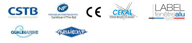 certifications des fenêtres syma pvc