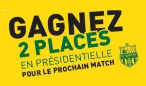 2 places FC Nantes Groue Millet
