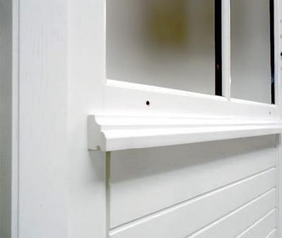 sur-mesure fenêtre bois syle opéra