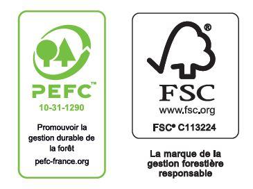 certifications fenêtre logo pefc et fsc