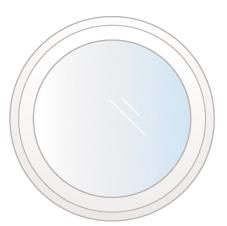 fenêtre oeil de boeuf