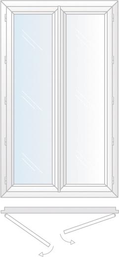 fenêtre ouverture a la francaise