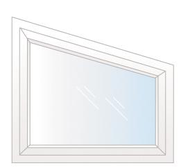 fenêtre trapèze