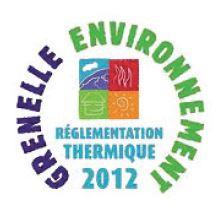 logo réglementation thermique 2012 RT2012