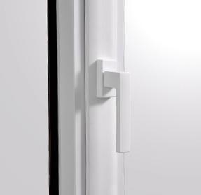 lumière et poignée fenêtre syma pvc