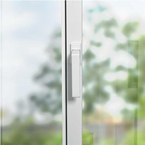 La poignee siMple a un profil central de 60 mm soit 35% plus fin que le marché standard